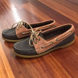 LL Bean Brown loafers size 6.5